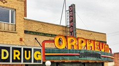 Orpheum Theatre- Conrad MT (2) (kevystew) Tags: montana ponderacounty conrad orpheumtheatre theater theatre movietheater sign