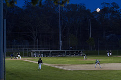 Baseball Under the Full Moon (brucetopher) Tags: nauset high school varsity highschool baseball ballplayer baseballplayer ballfield baseballdiamond baseballfield diamond bigdiamond youth sports sport kidssports youthsport athlete athletes athletic ball field park ballpark player play passtime pasttime game contest