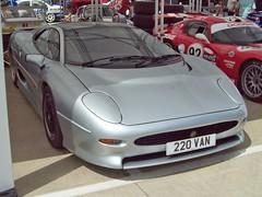773 Jaguar XJ220 (1994) (robertknight16) Tags: jaguar british 1990s xj220 supercar twr silverstone 220van