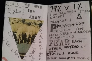 The 99% a Protest Zine