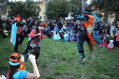 Jump! (Ai Lund) Tags: carnival rome dancing jump parade monte mario santa maria della pietà