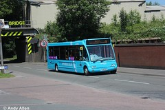 Arriva Midlands 2529 YJ09OUA (Andy4014) Tags: arriva midlands leicester bus yj09oua
