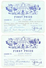 1962 and 1963. First Prize for Exercise Book (Love in a little black diary) Tags: rockhampton centralqueensland rockhamptonshow showtime rockhamptonagriculturalsociety rockhamptonshowsociety queensland theshow annualshow firstprize schoolwork firstprizeentries rockhamptonshowprizes