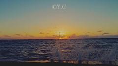 Ft. Myers Sunset (floridarailroading) Tags: sunset water ftmyers florida floridaswestcoast sunsetatthebeach gulfofmexico photographer photography
