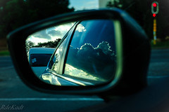 Reflections! Clouds in the Mirror! (Raphael de Kadt) Tags: johannesburg gauteng mirror clouds reflections doublereflections fujinonxf35mmf2 fujifilm xt2 southafrica weather car