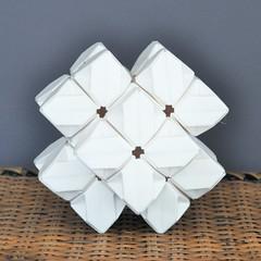 Tricubes - XX-Cube (1) (pia miller) Tags: origami sonobe paper art modular cube cuboid