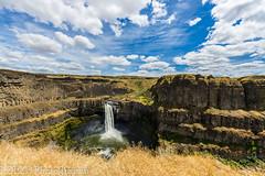 NT3.0091-WP170617_67094 (LDELD) Tags: palouse kahlotus washington palousefallsstatepark sunny clouds river canyon waterfall