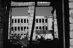 Kaunas 53 (Vygintas R.) Tags: 0014n15 bessar2a bw film iso80 2015 kaunas lietuva rolleiretro80s lc29 35mmfilm lithuania nikoncoolscan5000 rangefinder september city