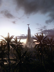 The Imperial Citadel Tower (#leggra) Tags: star wars battlefront ea digital illusions ce frostbite 3 electronic arts reshade framework