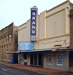 The Grand Theater - Yoakum,Texas (Rob Sneed) Tags: usa texas yoakum theater grandtheater sign neon vintage texana americana advertising smalltown urban retro movies 212wmayst