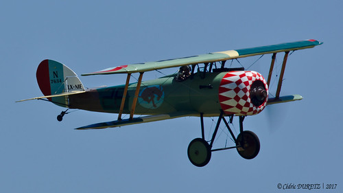 Nieuport 28 C.1 Replica / Private / LX-NIE