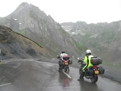 2017-06 Picos en Pyreneeën regen tijdens de afdaling van de col du Tourmalet