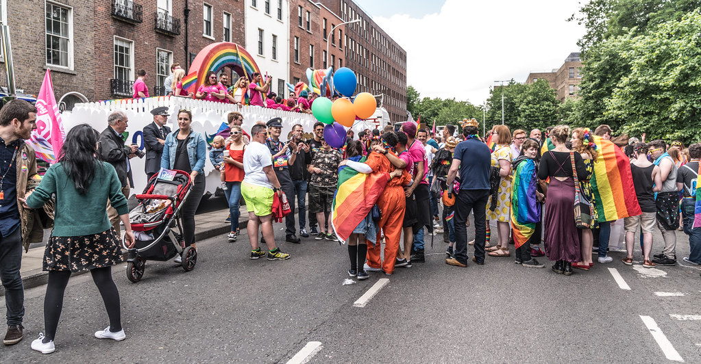 LGBTQ+ PRIDE PARADE 2017 [STEPHENS GREEN BEFORE THE ACTUAL PARADE]-129762