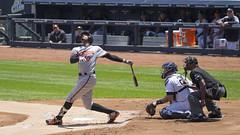#10 is Adam Jones (Mark Shallcross) Tags: yankees yankeestadium orioles baseball mlb 0f4a0139r16x9 jones batter adamjones