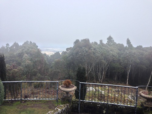 Cloudy view from Mount Macedon