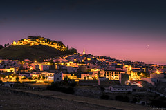Good night Estepa (jesbert) Tags: sony a7r2 night noche estepa andalusia spain moon pueblos españa andalucía town