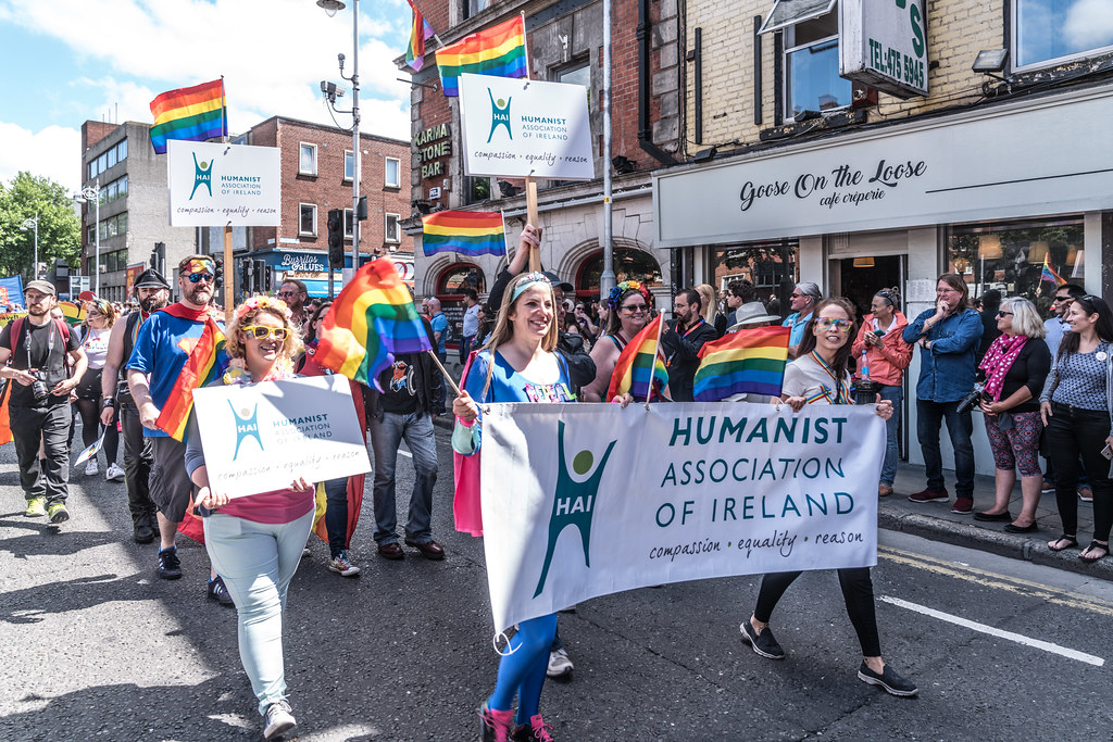 LGBTQ+ PRIDE PARADE 2017 [ON THE WAY FROM STEPHENS GREEN TO SMITHFIELD]-129968