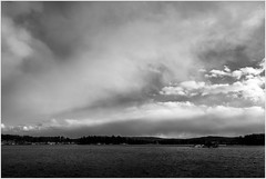 Sky (ronnymariano) Tags: cloudsky cloudscape storm old water overcast weather everypixel monochrome dramaticsky river sky outdoors landscape blackandwhite nature scenics southfields newyork unitedstates us 2017 bnw
