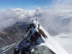 2017.06 - Grossglockner, Alps, High Tauern, Austria (rambles_pl) Tags: austria alps hightauern grossglockner grosglockner mountain mountains europe omd olympus em10 em10ii sky bluesky blue snow climbing trekking hiking abovetheclouds