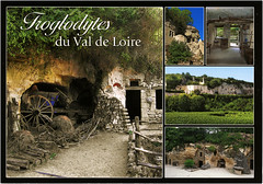 postcard - Troglodytes, Loire Valley (Jassy-50) Tags: postcard loirevalley loire france troglodyte cavedweller cave tufa tuffeau limestone multiview unescoworldheritagesite unescoworldheritage unesco worldheritagesite worldheritage whs