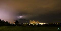 Into the storm - Val di Non (Elisa.95) Tags: storm sky dark rain clouds trentino italy landscape nikon light lightning trees city