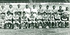 FC Utrecht (1977 - 1978) (poedievanlaar) Tags: fc utrecht utreg stadium stadion galgenwaard 1977 1978 voetbal football eredivisie elftal selectie netherlands dutch holland jan streuer piet hamberg joop van maurik blagoj blagoje istatov hans breukelen leo veen herman schreurs ben schubert trainer han berger vezorger martin okhuijsen okhuysen cor hildebrand andre andré hulshorst ton de kruijk kruyk gerard tervoort wim flight witbaard ries coté cote marco cabo assistenttrainer henk vonk