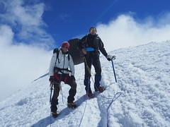 Alta amicizia (ghiaccio fuso 66) Tags: capannamargherita monterosa mt4554 amicizia andrea