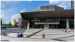 The Other Side of The Lowry (jason_hindle) Tags: manchester unitedkingdom salford thelowry sonya7ii ampitheatre sony28mmf2 lowry salfordquays