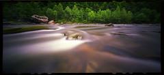 Summer Colors on the Narrows (DRCPhoto) Tags: zeroimage612b pinhole lenslessphotography fuji nph400 film cheatriver westvirginia