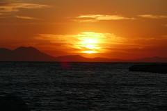 P1000588 (FAJM) Tags: greece syvota sivota thesprotia epirus σύβοτα θεσπρωτία ήπειροσ ελλάδα sunset corfu sea κέρκυρα