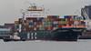 MSC Sandra. (PRA Images) Tags: mscsandra imo9203954 msc mediterraneanshippingcompany containership ship shipping rivermersey portofliverpool