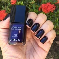 Chanel - Vendeta (Jane Iris) Tags: chanel vendeta esmalte nail polish unhas purple roxo