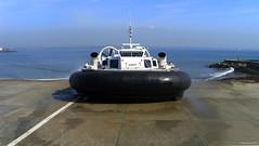Solent Express BHT130 - Ryde (Sammy4044) Tags: hover craft solent express old retired big large ryde portsmouth southsea travel bht130