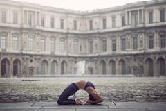 (dimitryroulland) Tags: nikon d600 dimitryroulland paris france natural light yoga flexible people flexibility sport performer art louvre urban street city