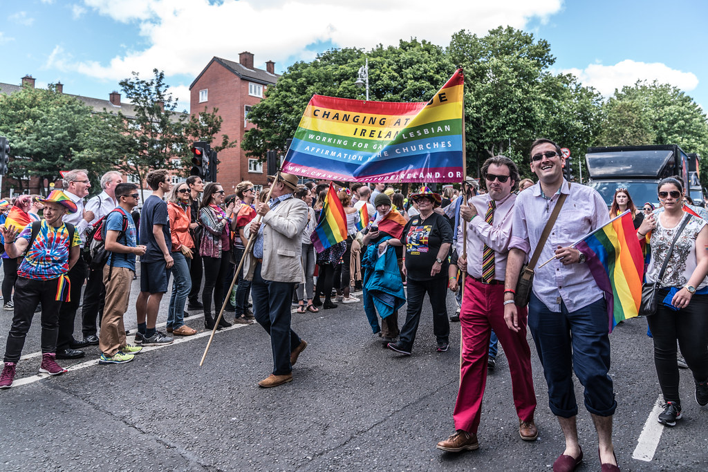 LGBTQ+ PRIDE PARADE 2017 [STEPHENS GREEN BEFORE THE ACTUAL PARADE]-129898