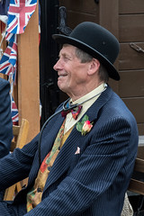 Smiling doctor. (Bob Green 52) Tags: svr severnvalleyrailway svrwarweekend2017 severnvalley railway train steam smoke war engine loco rails worcestershire 40sweekend reenactment