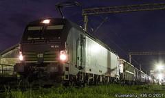 193 215 D-ELOC / LTE - Sighisoara, Romania (mureseanu_976) Tags: siemens vectron euro sprinter es 64 u 4 6400 kw 15 25 kv 50 hz ell european locomotive leasing lte ag austria osterreich avstrija sighisoara mures romania night nacht notte nuit noapte cfr cncf infrastructura infra