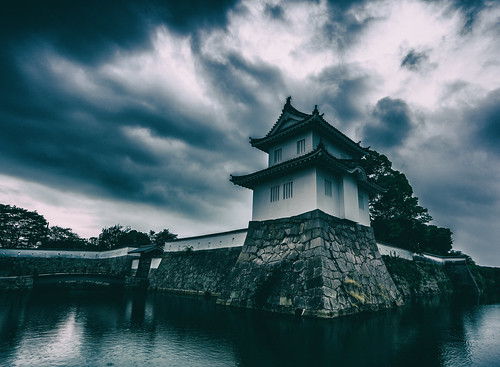 A japanese castle