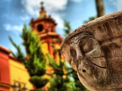 Dreaming (paolahiguera) Tags: colorful travel colors mobilephotography iphoneography iphone churches stone mexico dreams