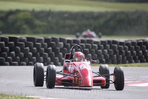 Neil Maclennan in the Formula Ford FF1600 championship at Kirkistown, June 2017