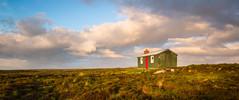 Peat Cutters Hut (MF65) Tags: 2017 d800 bog building clouds cottage grass hut moor peat storm sunlight scotland unitedkingdom