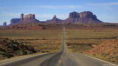 13 Milepost at Monument Valley (Neha & Chittaranjan Desai) Tags: monument valley utah navajo nation usa travel lanadscape road