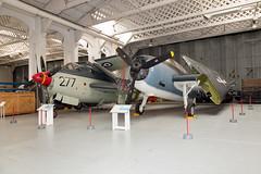 JW1A2448 (mark84rose) Tags: imperial war museum duxford grumman tbm3e avenger fairey gannet ecm6
