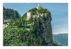 Castello Arco II (bavare51) Tags: gardasee arco castell burg olivenhain zypressen felsen berg