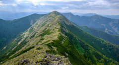 Gorgany mountains (meleshko.alex) Tags: ukraine europe gorgany mountains carpathians ridge rocks climbing hiking travel trees tree trip transcarpathian sun sunset sunrise summer clouds hdr fujifilm fuji fujinon xt1