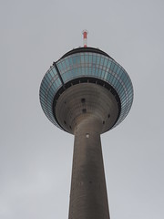 Rhine Tower, Düsseldorf 2017 (wayward-cloud) Tags: düsseldorf germany televisiontower rhinetower