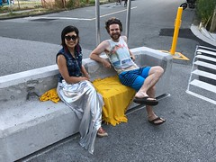 Pop-up Ping Pong on the Adanac Bikeway at Vernon Plaza (Paul Krueger) Tags: adanacvernonplaza adanacbikeway