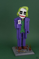 Dark Knight Joker (J.B.F) Tags: jbf jbfcreations 6kyubi6 lego moc brickbuildcharacter commission joker darknight figure batman thejoker dcuniverse supervillain