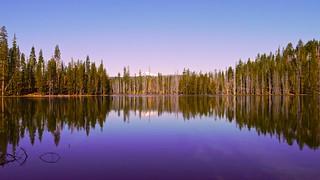 Rainbow Lake in Lassen Volcanic National Park