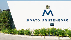 Porto Montenegro (damjan_savic) Tags: artwork artist sign exclusive resort place montenegro travel tourism yacht bay port summer water riviera green style modern building plant